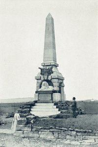 Das Reiterdenkmal bei VYSOKOW