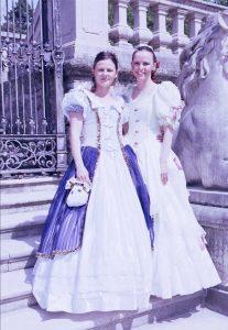 historische Damen Sabine und Anita
