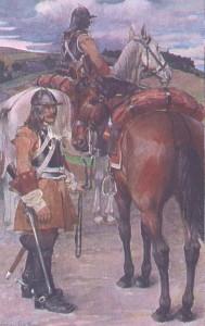 Hessen- Darmstatt Kürassier 1701