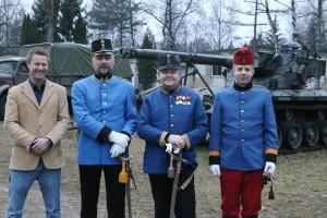Die vier Teilnehmer unseres Vereins