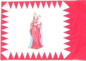 B-Seite, Madonna gemäß Foto aus der Regimentschronik.